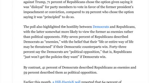 70% of Republicans would join Trump in a separate political party