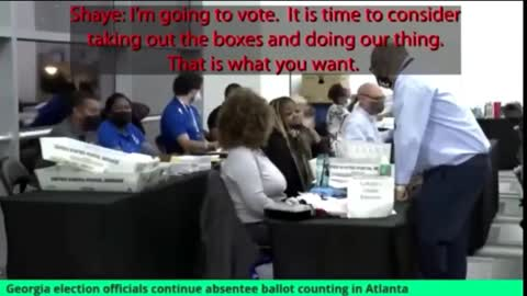 NEWLY RELEASED: Top Georgia Election officials CAUGHT in the act