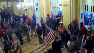Another Video Shows Jan 6 Protestors Were Met Without Resistance