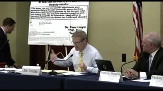 WATCH: Rep Jim Jordan EXPOSES Dr. Fauci, Calls Out His Lies!