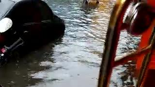 Local Floods Inspire Trombone Player