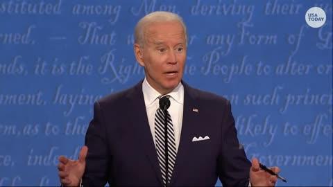 Presidential Debate #1   Pandora's Box : Bleach, Bunkers, Biden and Trump