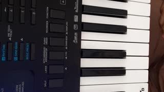 Super Mario theme song piano