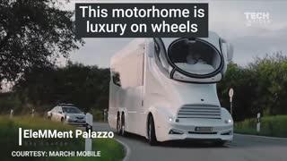 Luxury Vans turned into Homes.