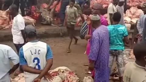 Mercato in Africa