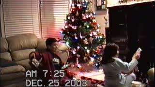 Christmas Morning 2003 - 2009