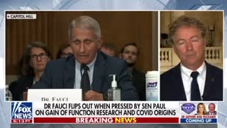 Rand Paul to Request Criminal Referral for Dr. Fauci From DOJ ..!!!