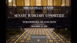 2020 12 30 Georgia Senate Election Hearing - Full