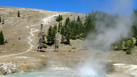 Imperial Geyser, Yellowstone Wyoming