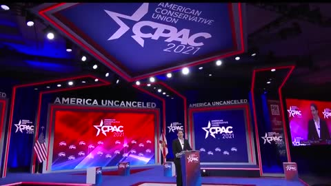 Robby Starbuck at CPAC 2021