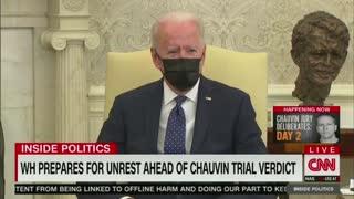 Biden: Evidence Against Derek Chauvin Is Overwhelming!