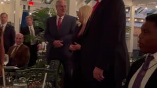 Singing Happy Birthday To President Donald J Trump