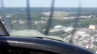 My first Landing @ New Bedford Airport