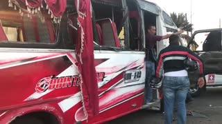 Accidente en La Santander