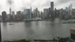 Time lapse of a Rainstorm