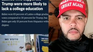 Fake News attack Hispanic Trump Voters