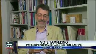 Princeton Professor Hacks Dominion Voting Machine in Seven Minutes