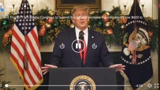Trump Speaks on COVID Relief Package