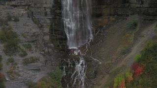 Beautiful Waterfall in Fall