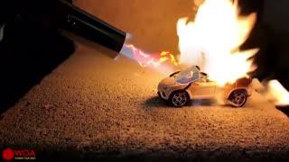 Doodle Mini car fight against the Gun Gas