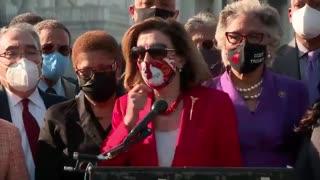 Nancy Pelosi Thanks George Floyd For Being Killed