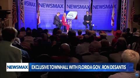 Governor DeSantis on Spicer & Co Newsmax Townhall