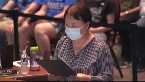 Chinese Mom Lectures School Board On Critical Race Theory
