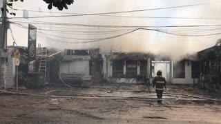 Incendio en Crespo
