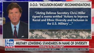 Lower Military Standards: Tucker Carlson Tonight
