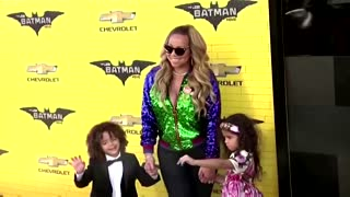 Mariah Carey portrayed by her daughter in advert