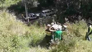 Policía rescata a turista estadounidense en Floridablanca
