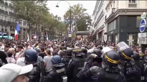 Manifestation PARIS - 11 Septembre 2021 - Partie A