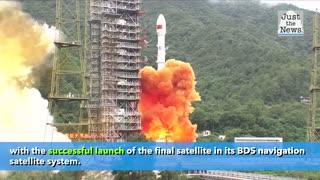 China launches final satellite to challenge U.S. GPS