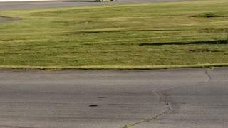 Testing sprint car