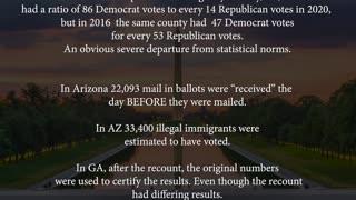 EVIDENCE of Election Fraud on November 3, 2020