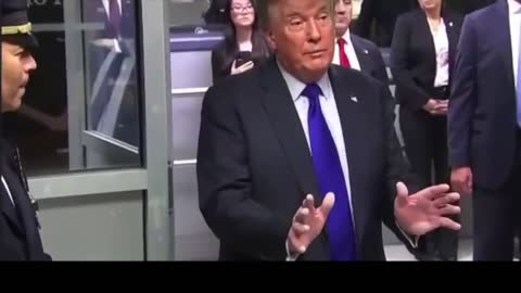 MUST SEE: President Trump Makes Surprise Visit to New York Police and Firefighters on 9/11