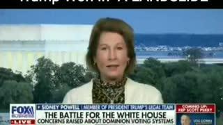 Trump WON in a LANDSLIDE - Sydney Powell