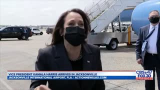 Kamala Harris Has Worst Possible Response When Asked If She Will Go To Border