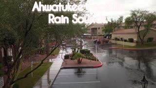 It's raining (Ahwatukee Foothills rain sounds )