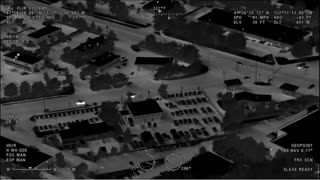 Nighttime Police Pursuit... Foot Bail... Night Vision... K9