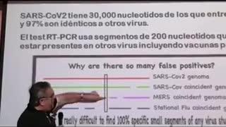Dr Alejandro Sousa experto infecciones explicando PORQUE HAY GRAN FALSOS POSITIVOS PARA COVID