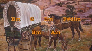 Country Western Guitar Backing Track in Em