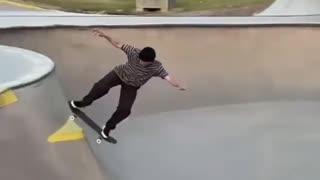 Insane Skateboarding Skills
