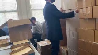 Georgia Boxes FULL of Missing BALLOTS