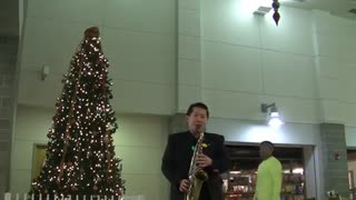 Silver Bells Saxophone cover
