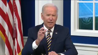 """Biden on climate change representing """"Code red for humanity"""""""