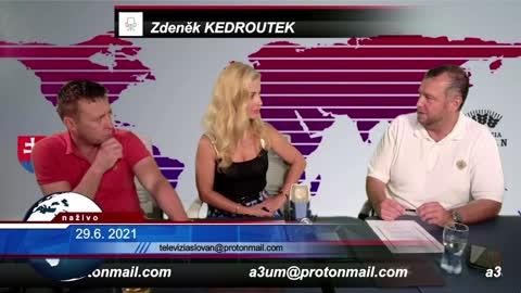 29.06.2021 Zdeněk Kedroutek v TV SLOVAN o aktuální politické mezinárodní situace
