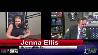 Ronna McDaniel is a liar. Jenna Ellis with Sebastian Gorka on AMERICA First