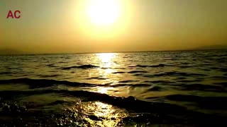 Sea beach Beautiful Footage video