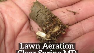 Lawn Aeration Clear Spring MD GroshsLawnService.com